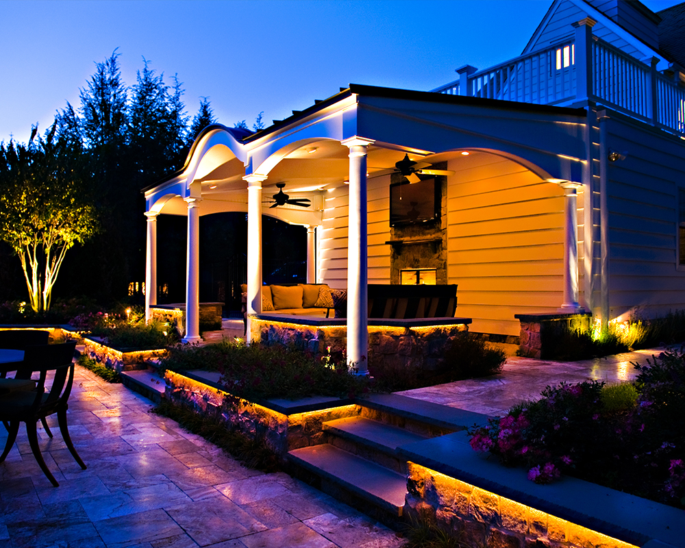 Work and Projects Landscape Lighting - Pinnacle